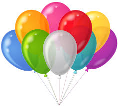 10 helium balloons for Pune only