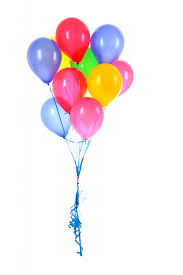 6 helium balloons for Pune only