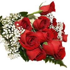 8 roses hand bouquet Only for Pune