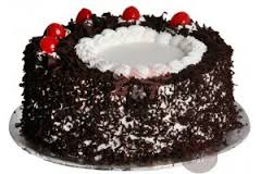 Black forest cake eggless 1 kg