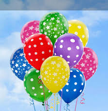 24 polka dot air balloons delivery pune