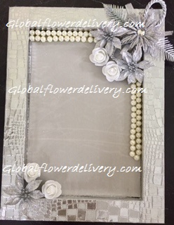 Decorated tray