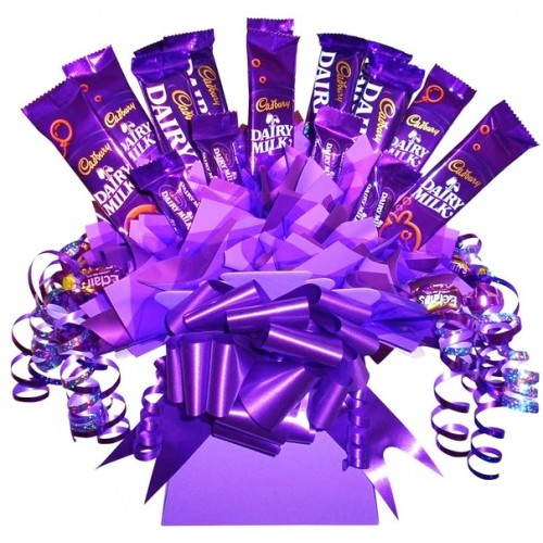 Cadburys dairy milk chocolate bouquet